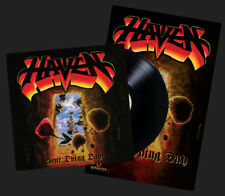 HAVEN - YOUR DYING DAY + POSTER (BLACK VINYL, 2017, Retroactive Records) Metal