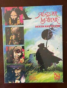 Alvar Mayor Death and Silver #1 6.0 FN 4Winds (1989) GN graphic novel