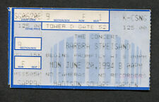 1994 Barbra Streisand concert ticket stub Madison Square Garden New York