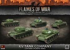 Flames of War Russian KV Tank Company Mid War Soviet Battlefront SBX40
