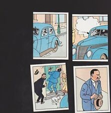 Herge Tintin Panini 1989 autocollants 215 216 217 218