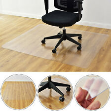 "47"" x 59"" PVC Chair Floor Mat Home Office Protector For Hard Wood Floors New"