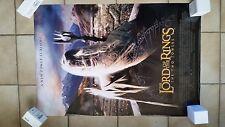 LOTR Two Towers Saruman Original Movie Poster DoubleSided 27x40 Peter Jackson