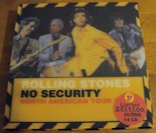 ROLLING STONES  -- No Security North American Tour 1999 --   14 CD's   Box