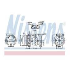 Fits Suzuki Grand Vitara GT 2.7 XL-7 Genuine Nissens A/C Air Con Compressor