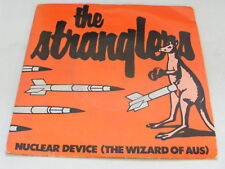 THE STRANGLERS Nuclear Device   United Artists 1979 UK P/S 7""