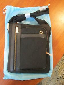 Piquadro, Barcelona, Black Small shoulder bag, tote, casual bag CA1702S11/N