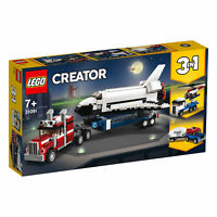 31091 LEGO Creator Shuttle Transporter 341 Pieces Age 7+ New Release for 2019!