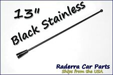 "13"" Black Stainless AM FM Antenna Mast FITS: 1996-2000 Plymouth Breeze"