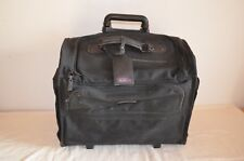 TUMI BACKPACK CAMERA BRIEF CARRY ON BAG DAYPACK VIDEO BLACK NYLON MADE IN USA