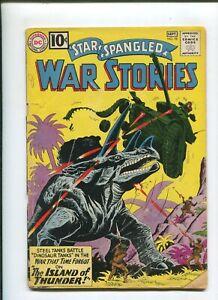 STAR SPANGLED WAR STORIES #98 (1.8) ISLAND OF THUNDER 1961