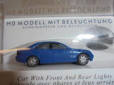 Busch 5650 échelle H0, Mercedes C-Classe bleu # Neuf Emballage d'ORIGINE #