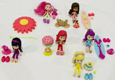 Scented Strawberry Shortcake All Character Dolls + Beach Set