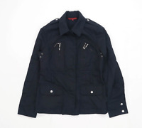 John Richmond Womens Size 12 Cotton Black Jacket