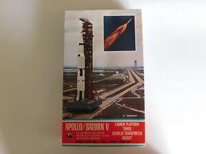 Vintage 1970's Cashulette Apollo Saturn V Model Kit