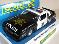 Scalextric C4108 Special Chevrolet Monte Carlo County Sheriff - 1:32 slot car