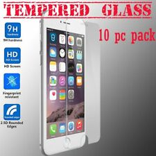 10Pcs x New Real Premium Tempered Glass Screen Protector for Apple iPhone 7