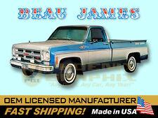 1975 GMC Truck Beau James Decals Kit
