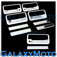 92-99 GMC+Chevy Suburban Chrome Plated 4 Door Handle+PSG Keyhole+Tailgate Cover