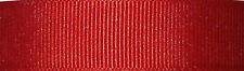 10mm Berisfords Red Grosgrain Ribbon 20m Reel