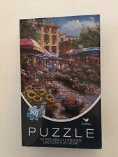 New Cardinal Jigsaw Puzzle SAM PARK Painting 500 Pc Mini Sz  (see description)