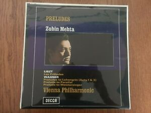 Decca SXL 6298. Liszt / Wagner Preludes. Zubin Mehta 1st press Wb/g.