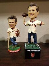SF Giants 2017 Joe Montana 49ers Bay Area bobblehead bobble 09/12 BOTH Reg & VIP