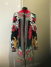 BNWT MARY KATRANTZOU silk shirt dress beach coverup sizeUK14