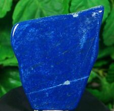 Lapis lazuli Slab Crystal Lapidary rock/slab Smooth Polished natural gem stone
