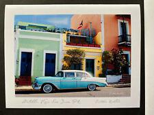 Puerto Rico ca2000, Tarjeta FOTO Postal, OLD SAN JUAN SCENES, Esteban Robledo
