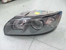 VOLVO V50 LEFT HEADLAMP HALOGEN (GREY INSERT), AL P/N 0301198603, W/ BEAM ADJ.,