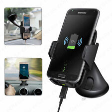 Qi Wireless Car Charger Dock Kit Dash Mount Holder For iPhone 8 Plus iPhone X 10