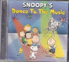 Snoopy's Classiks On Toys Dance To The Music New Peanut Cd Album Free Shipping