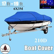 17-19ft / 5.2m-5.8m Heavy Duty 210D Marine Grade Trailerable Boat Cover Protect