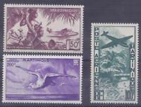 Colonies françaises - Martinique - Pa n° 13 à 15**