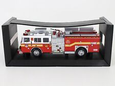 Code 3 FDNY New York Seagrave Pumper Squad Co 41 Fire Truck 1:64 Diecast 12655