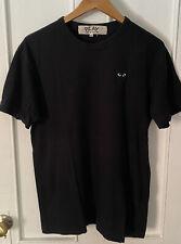 Comme Des Garcons Play Men's Adult T-shirt Black w/ Black Heart CDG SzXL