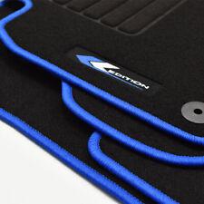 Velours Edition Fußmatten für VW Golf VI 6 Variant ab Bj.10/2008 - 2013 blau