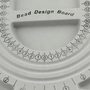 Flocked Bead Board Necklace Design Tray Organizer Jewelery Making Craft Tool DIY