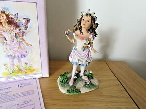 CHRISTINE HAWORTH  Faerie Poppets - Spring Pansy