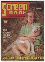 Screen Book November 1939 Judy Garland Clark Gable Mickey Rooney