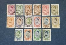 Thailand Stamps, Scott 348-355, 356-362 Short set used and hinged