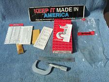 Starrett 585ma P 3 50mm Thread Micrometer 45 6 Vintage Toolmaker Grind Inspect