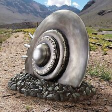 Crash Landing Flying Saucer Alien Spacecraft Roswell Area 51 UFO Statue