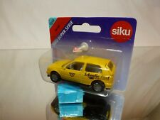 SIKU 1010 VW VOLKSWAGEN GOLF GTL - SCHNELLE POST - EMS - EXCELLENT IN BLISTER