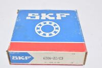 NEW SKF 6306-2Z/C3 Deep groove ball bearing