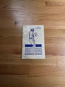 Quarterback Video Arcade Game Mini Diagnostic Manual, Leland 1987