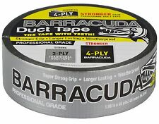 Barracuda Duct Tape Silver 48mm x 54,8m Professional Grade Tape 200my thickness