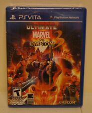 New! Ultimate Marvel vs. Capcom 3 (Sony PlayStation Vita, 2012)
