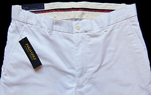 Men's POLO GOLF RALPH LAUREN White Twill Pants Tagged 34x32  NEW NWT Beautiful!